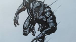 black panther marvel comic drawing youtube