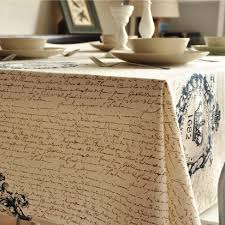 aliexpress com buy vintage crown linen table cloth coffee side