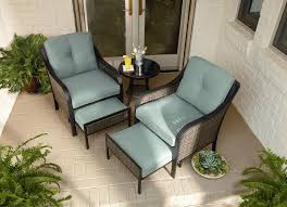 Patio Chair With Ottoman Garden Oasis Frs10103st Nichols 5pc Mixed Media Seating With