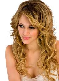hilary duff wavy hair