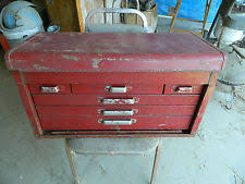 Kennedy Tool Box Side Cabinet Kennedy Tool Box Ebay