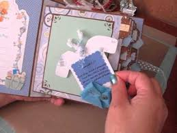 baby boy scrapbook album baby boy s year scrapbook album
