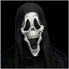 scream halloween mask scream skele face ghost face mask mad about horror