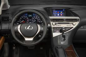 lexus sport car interior 2015 lexus rx350 reviews and rating motor trend