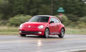 volkswagen bug 2012 2012 volkswagen beetle turbo road test review car and driver