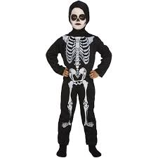 child halloween costumes uk childs skeleton halloween costume age 10 12 years fancy dress