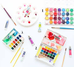 watercolors for beginners 5 frame worthy art lines across