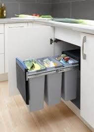 kitchen bin ideas how to organize waste in a small kitchen small spaces trash