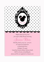 minnie mouse baby shower invitations kawaiitheo com