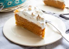 yams thanksgiving marshmallows sweet potato pie with marshmallow meringue the pioneer woman