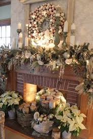 White Christmas Mantel Ideas by 50 Christmas Mantel Decorations That Are Sure To Grab Attention