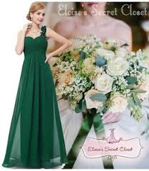 bridesmaid corsage elodie emerald green corsage chiffon maxi prom evening bridesmaid
