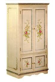 Painted Armoire Furniture Armoire Awesome Hand Painted Armoire Unique Armoires Painted