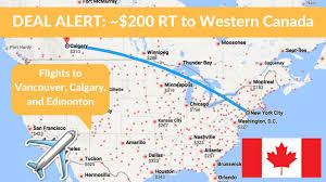 Calgary Canada Map by Canadian Trip Planning Calgary Lake Louise Edmonton