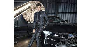 lexus rx jude mark ronson partners with lexus to launch the new lc