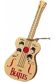 miniature hoffner bass guitar ornament brown