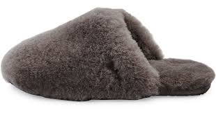 ugg sale neiman ugg fluff clog slipper in gray lyst