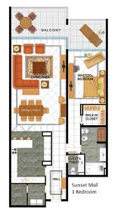 3 Floor Mall by Jumeirah 1 2 U0026 3 Dubai Floor Plans