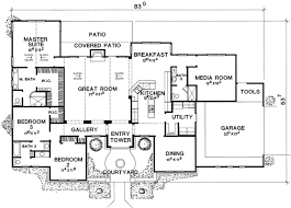 floor plans with guest house media room with guest room options 31129d architectural