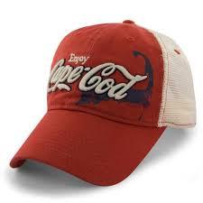 enjoy cape cod townie trucker hat olympia sports