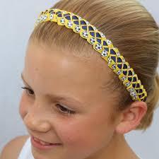 soccer headbands sillies headband vbii soccer balls yellow s bowtique