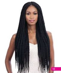 box braids hairstyle human hair or synthtic multi pack long large box braid freetress synthetic crochet