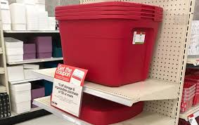sterilite storage home depot black friday sterilite storage totes only 4 00 at target stock up the