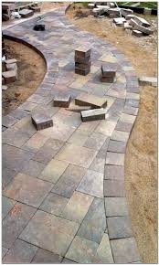 Installing A Patio With Pavers by Installing Patio Pavers In Florida Patios Home Furniture Ideas