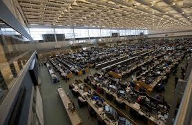 floor in s largest trading floor put on the block wsj