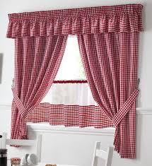 rideaux cuisine et blanc vichy rideaux cuisine lambrequin 45 7cm panneau de