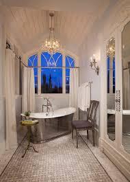 Crystal Light Fixtures Bathroom by Bathroom Framed Photograph Tile Flooring Towel Holder Metal