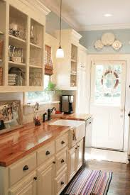 rustic kitchens designs fancy brown wooden coutner white acrylic