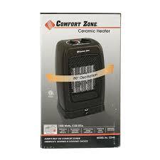 Comfort Zone Heater Fan Comfort Zone Oscillating Ceramic Heater Howard Berger Cz448