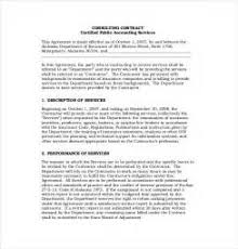 consulting contracts templates free 28 images 25 consulting