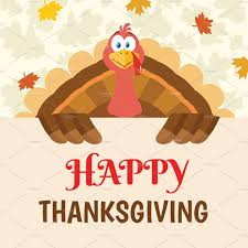 turkey bird happy thanksgiving sign illustrations creative market