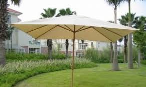 rectangular patio umbrellas you u0027ll love wayfair