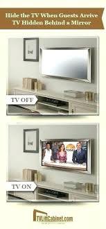 mirror cabinet tv cover mirror tv mount designer mirror design your own mirror in 3 simple