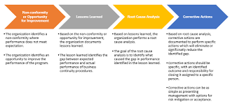 lessons learned report template using lessons learned in the evaluation of business continuity