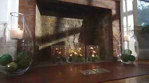 How To Decorate A Non Working Fireplace by Decorate Your Fireplace Or Create One With Partylite Youtube