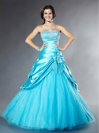new style ball gown silhouette elegant strapless pick up skirt