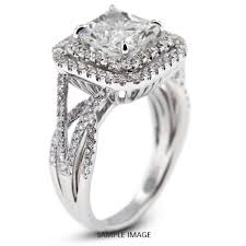 square style rings images 18k white gold vintage style engagement ring with halo with 3 14 jpg