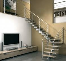 Home Interior Staircase Design by Interior Great Home Interior Stair Design Using Half Turn