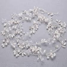 handmade tiaras idealway handmade bridal rhinestone hair women white