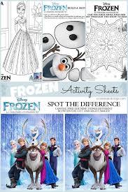 25 frozen activities ideas disney frozen