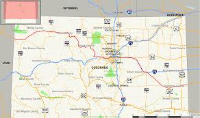Map Colorado by U S Route 40 In Colorado Wikipedia