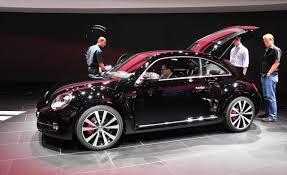 volkswagen beetle modified interior new 2013 vw beetle fender edition world automotive