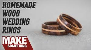 wooden wedding rings segmented wood wedding rings woodworking project