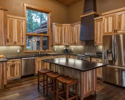 hickory kitchen island rustic hickory cabinets hickory cabinets decorating