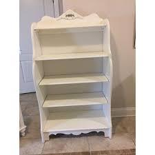 stanley furniture shabby chic antique white children u0027s bookcase