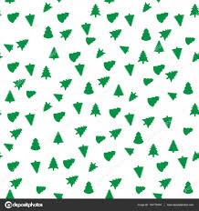 christmas tree geometric seamless pattern fashion graphic vector